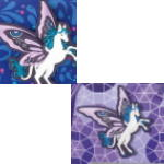 Step by Step Sparkling Pegasus