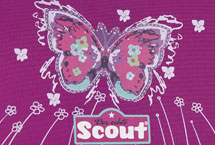 Scout Purple Butterfly