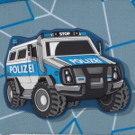 Step by Step Police Truck