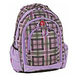 Plaid lila Schottenkaro Berlin Take it Easy Schulrucksack