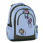 Berlin Take it Easy Schulrucksack Beauty Flower hellblau