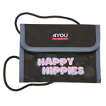 4YOU Money Bag Happy Hippies Brustbeutel