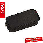 4YOU Pencil Case mit Geodreieck Black