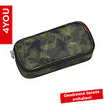 4YOU Pencil Case mit Geodreieck Camouarrows