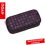 4YOU Pencil Case mit Geodreieck Minidots