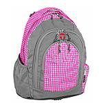 Pink Plaid Berlin Take it Easy Schulrucksack