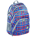 Coocazoo EvverClevver Rucksack Check Peacoat II mit Laptopfach