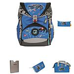 DerDieDas Ergoflex Superflash 5 tlgs Schulrucksack Set Space
