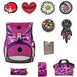 DerDieDas Ergoflex Switch Patch Girls Schulrucksackset 5tlg