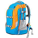 Schulrucksack satch by ergobag blau orange Freeze
