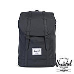 Herschel 19,5 Liter Rucksack Retreat Black Black, inkl Laptopfach