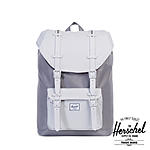 Herschel Little America Mid-Volume Grey Lunar Rock Rubber