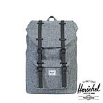 Herschel Rucksack Little America Mid-Volumen Scattered Rven Crosshatch