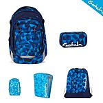 Satch Match Blue Crush Schulrucksack 5tlg. Set