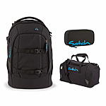 Satch Pack Black Bounce Schulrucksack 3 tlg. Set