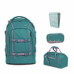 Satch Pack Ready Steady Schulrucksack Set 4tlg