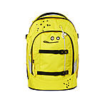 Satch Schulrucksack Cleptomanicx yellow Lemon, komplett in gelb
