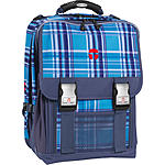 Schulrucksack Take it Easy London Viola blue