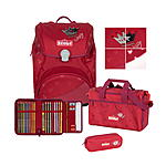 Scout Alpha Premium Red Princess Schulranzenset 4 tlg.