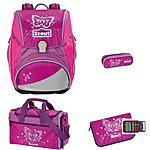 Scout Alpha Purple Butterfly 4tlg. Schulranzenset