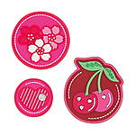 Scout Funny Snaps 3er Set Cherry Red