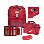Scout Genius Premium Red Princess Schulranzenset 4 tlg.