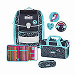 Scout Genius Tropical Schulranzenset 4 tlg