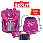 Scout Nano Schulranzen-Set Purple Butterfly