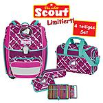 Scout Schulrucksack Genius Best Friends 4 teiliges Set
