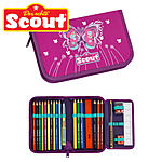 Scout Stifteetui Purple Butterfly