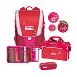 Scout Ultra Cherry Red Schulranzenset 4 tlg