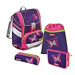 Step by Step 2in1 Shiny Butterfly 4 teiliges Schulrucksackset