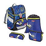 Step by Step 2in1 Soccer Team 4 teiliges Schulrucksackset
