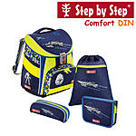 Step by Step Comfort DIN Space Pirate, 4 tlg Schulranzen Set