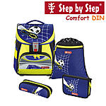 Step by Step Comfort DIN Top Soccer Schulranzen-Set 4-tlg.