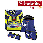 Step by Step Light DIN Top Soccer Schulranzen-Set 4-tlg.
