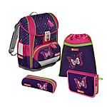 Step by Step Light2 Shiny Butterfly Schulranzen 4 tlg. Set