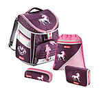 Step by Step Schulranzen 4 teiliges Set Comfort, Unicorn