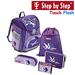 Step by Step Touch Flash Pegasus Purple, 5tlg Schulranzen Set