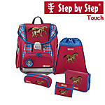 Step by Step Touch Horse Family Schulranzen-Set 5-tlg.