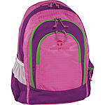 Take it Easy Schulrucksack Berlin Light Nylon, 216 pink grün