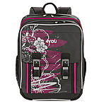 Classic Plus 4YOU Schulrucksack 229 Graphic Art