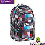 coocazoo JobJobber 2 Checkmate Blue Red