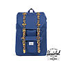 Herschel Little America Mid-Volume Twil Blue Tort Shell Rub