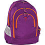 Take it Easy Schulrucksack Berlin Light Nylon, 217 lila orange